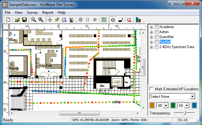 visiwave site survey software tool for wifi and wireless networks. Black Bedroom Furniture Sets. Home Design Ideas