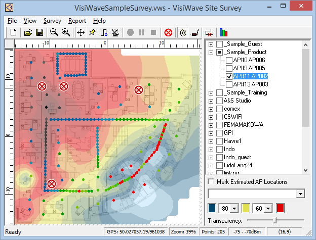 Visiwave Wi Fi Site Survey Software For 802 11 A B G N